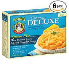 Annies Gluten Free Creamy Deluxe Macaroni and Cheese Dinner