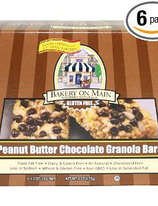 Bakery on Main Gluten Free Peanut Butter Chocolate Chip Granola Bar