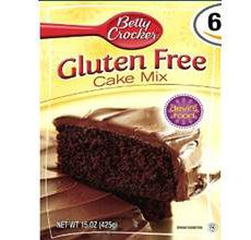 Betty Crocker Gluten Free Devils Food Cake Mix
