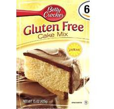 Betty Crocker Gluten-Free Yellow Cake Mix