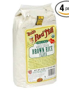 Bobs Red Mill Gluten Free Organic Brown Rice Flour