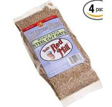 Bobs Red Mill Gluten Free Whole Grain Steel Cut Oats