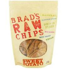 Brads Raw Chips Gluten-Free Sweet Potato Flavor