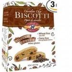 Coffaros Baking Gluten-Free Biscotti Chocolate Chip