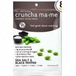 Cruncha Ma-Me Gluten-Free Veggie Snack Salt Pepper