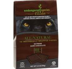 EndangeredSpecies Extreme Dark Chocolate Pieces