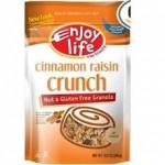 Enjoy Life Gluten-Free Cinnamon Raisin Crunch Granola