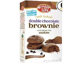 Enjoy Life Gluten-Free Double Chocolate Brownie Cookies
