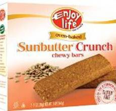 Enjoy Life Gluten-Free Sunbutter Crunch Chewy Bars
