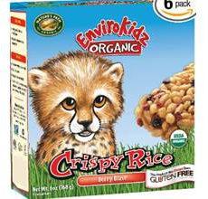 EnviroKidz Gluten-Free Organic Crispy Rice Berry Blast