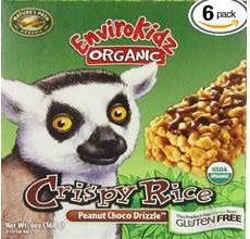 EnviroKidz Gluten-Free Organic Crispy Rice Peanut Cocoa Drizzle