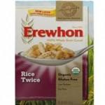 Erewhon Gluten-Free Rice Twice Cereal