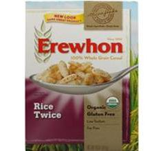 Erewhon Gluten-Free Rice Twice Cereal