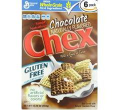 General Mills Gluten Free Chex Chocolate Cereal