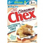 General Mills Glute Free Cinnamon Chex Cereal