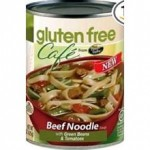 Gluten-Free Cafe Beef Noodle Soup