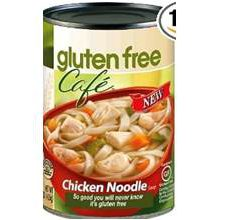 Gluten-Free Cafe Chicken Noodle Soup