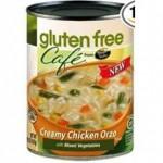 Gluten-Free Cafe Creamy Chicken Orzo Soup