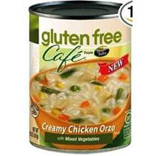 Gluten-Free Cafe Creamy Chicken Orzo Soup