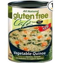 Gluten-Free Cafe Vegetable Quinoa Soup