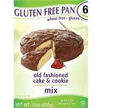 Gluten-Free Pantry Cake Cookie Mix