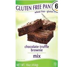 Gluten-Free Pantry Chocolate Truffle Browniecake Mix