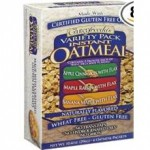 Glutenfreedas Certified Gluten-Free Variety Pack Instant Oatmeal