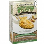 Glutenfreedas Instant Oatmeal Apple Cinnamon With Flax