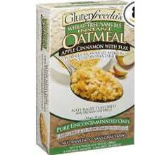 Glutenfreedas Instant Oatmeal Apple Cinnamon With Flax