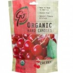 GoNaturatlly Gluten-Free Organic Cherry Hard Candies