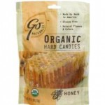 GoNaturatlly Gluten-Free Organic Honey Hard Candies