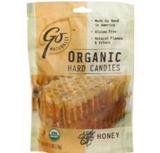 GoNaturatlly Gluten-Free Organic Honey Hard Candies