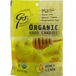 GoNaturatlly Gluten-Free Organic Honey Lemon Hard Candies