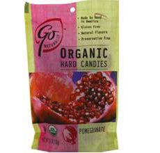 GoNaturally Gluten-Free Organic Pomegranate Hard Candies
