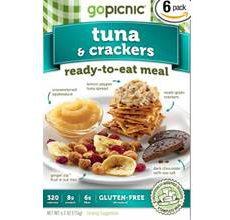 GoPicnic Gluten-Free Tuna-Crackers
