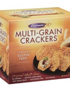 Grandmaster Gluten Free Multi-Grain Crackers