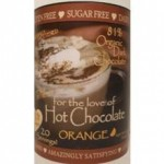 InJoy Organics Gluten-Free Dark Chocolate Orange Hot Chocolate