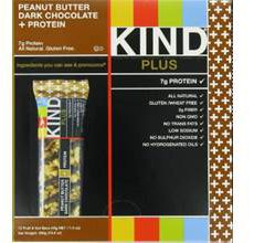 KIND Fruit-Nut Gluten-Free Peanut Butter Dark Chocolate Bar