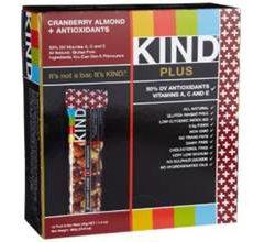 KIND Plus Gluten-Free Cranberry Almond Bar