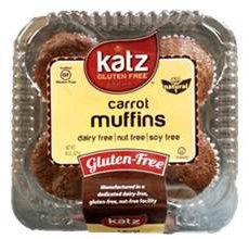 Katz Gluten-Free Carrot Muffins