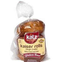 Katz Gluten-Free Kaiser Rolls
