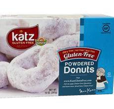 Katz Gluten-Free Powdered Donuts