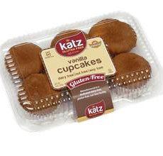 Katz Gluten-Free Vanilla Cupcakes