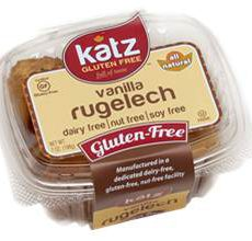 Katz Gluten-Free Vanilla Rugelech