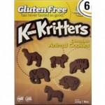 Kinnikinnick Gluten-Free Chocolate Animal Cookies