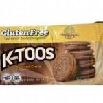 Kinnikinnick Gluten-Free Fudge Sandwich Cookies