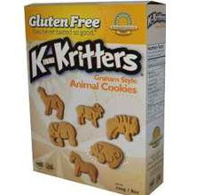 Kinnikinnick Gluten-Free Graham Style Animal Cookies