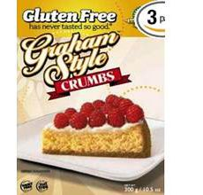 Kinnikinnick Gluten-Free Graham Style Crumbs