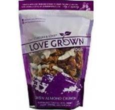 Love Grown Gluten-Free Oat Clusters Raisin Almond Crunch