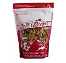 Love Grown Gluten-Free Oat Clusters Sweet Cranberry Pecan